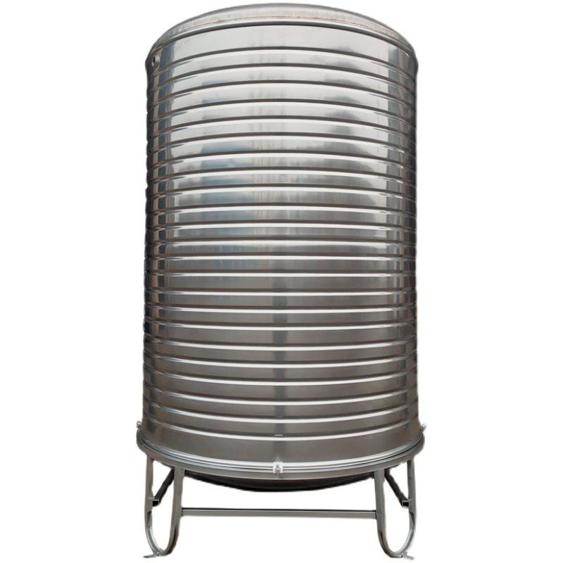 【免運】水塔儲水罐304不銹鋼水桶太陽能樓頂家用蓄水大容量加厚戶外水箱【蓄水桶】