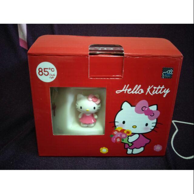 85度C  Hello Kitty造型馬克杯  白色獨家獻禮款