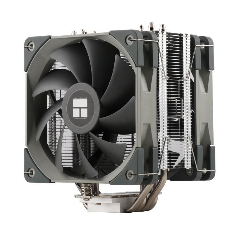 利民刺靈AS120 PLUS RGB CPU風冷散熱器12CM ARGB神光靜音風扇