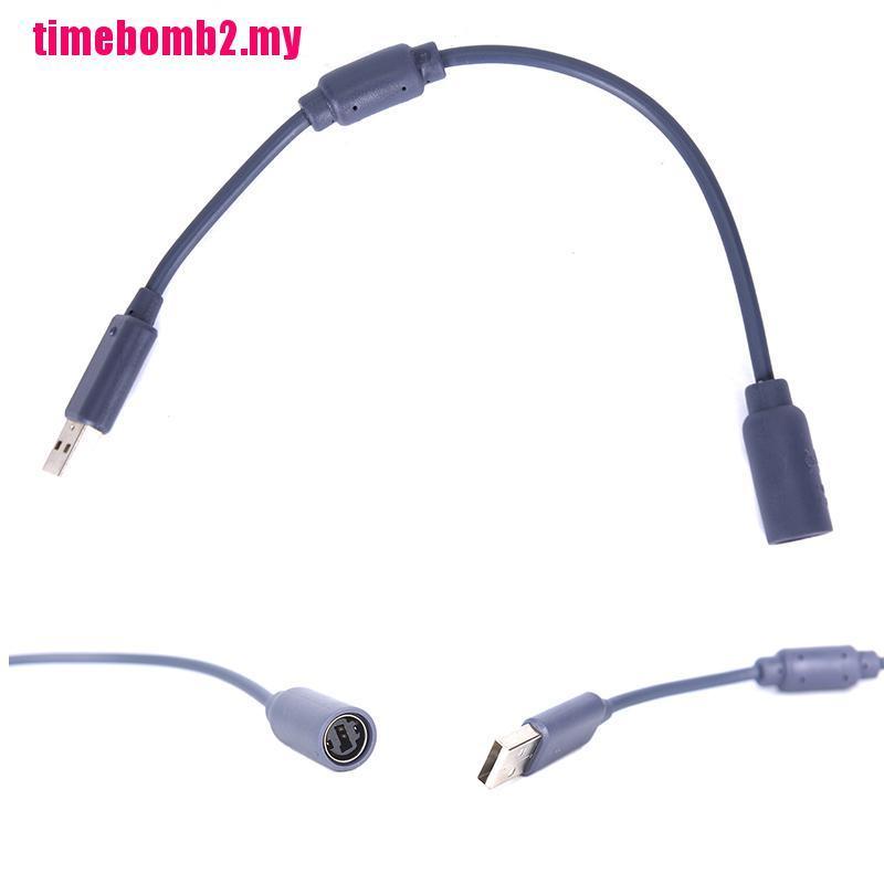 用於 XBOX 360 的 Hlh 有線控制器連接器 USB 分離電纜線適配器