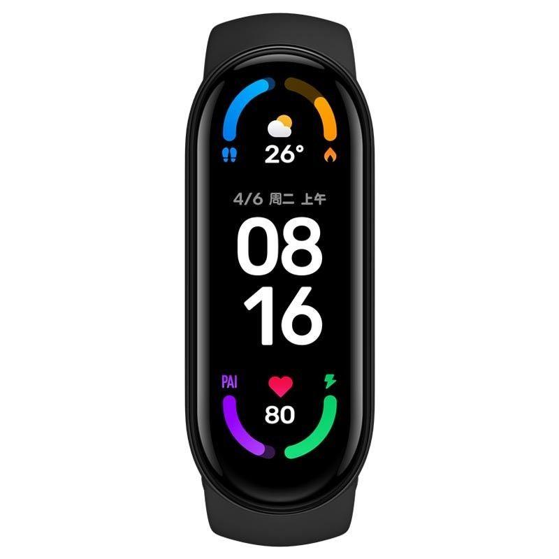 小米手環6 標準版 小米手環5 血氧檢測 小米手環 台灣保固一年 繁體中文 小米手環4小米手環6代全面屏NFC版運動計步