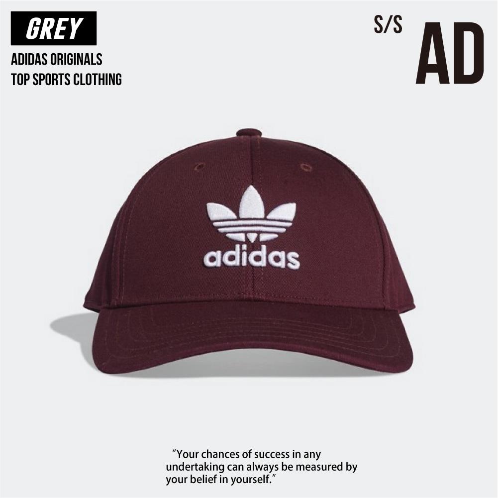 Adidas 經典三葉草 老帽 帽子 酒紅色 DV0175 全新正品 統一發票
