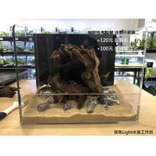 <塔魚>小缸(1&1.2尺)精選紫柚木22號 沉木 水族缸造景 主景 水草造景 空氣鳳梨 新竹縣