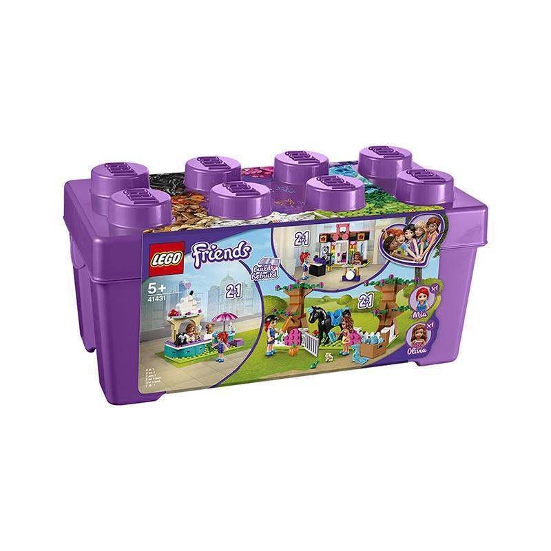【尤娜】 【保稅發貨】LEGO/樂高 好朋友系列 心湖城積木盒 41431