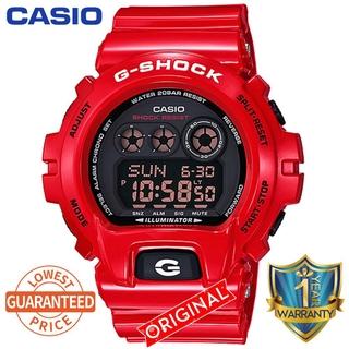 【NEW】卡西歐G-Shock DW6900防震數字運動手表男士手表DW-6900NB-1