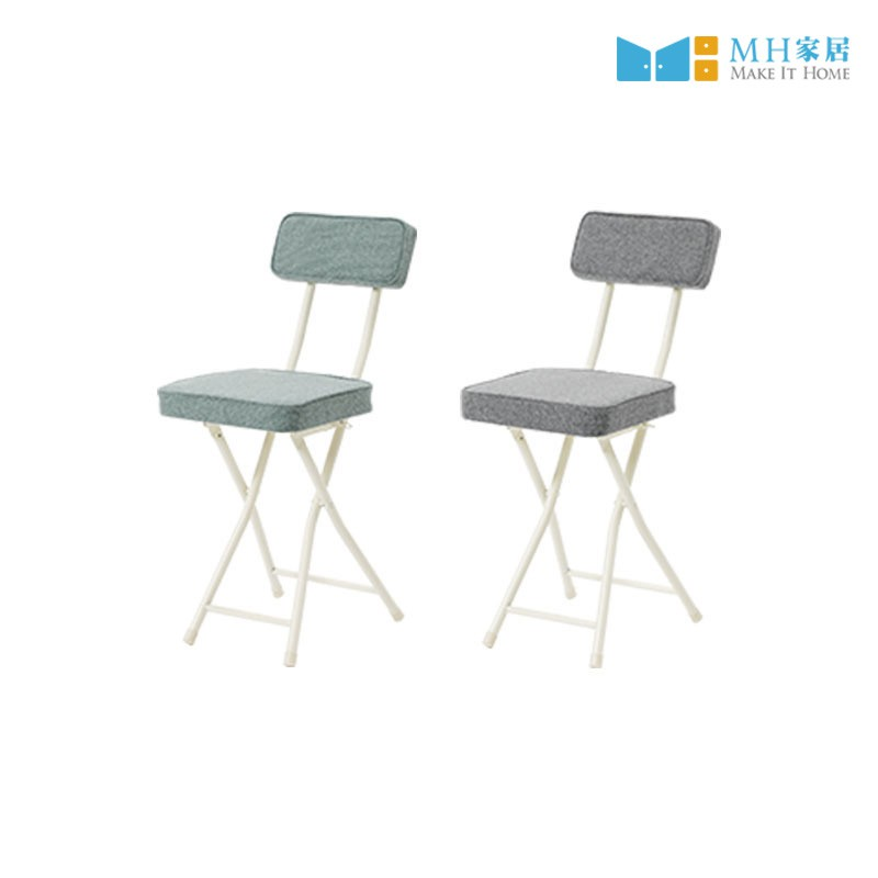 MH家居 斯維特折疊靠背方椅 47.5公分 好收納 摺疊椅