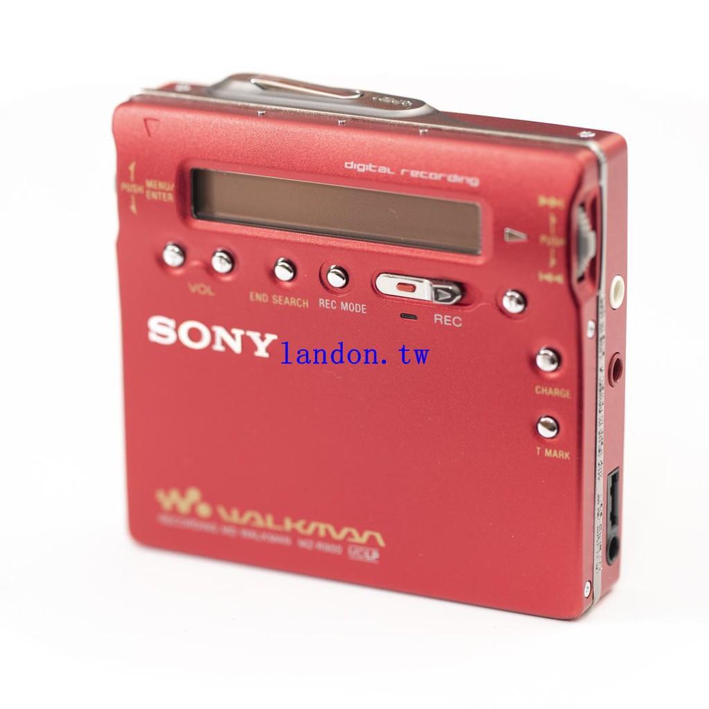 SONY MZ-R900 索尼MD隨身聽 錄放型 金屬機身 日本制造 minidisc