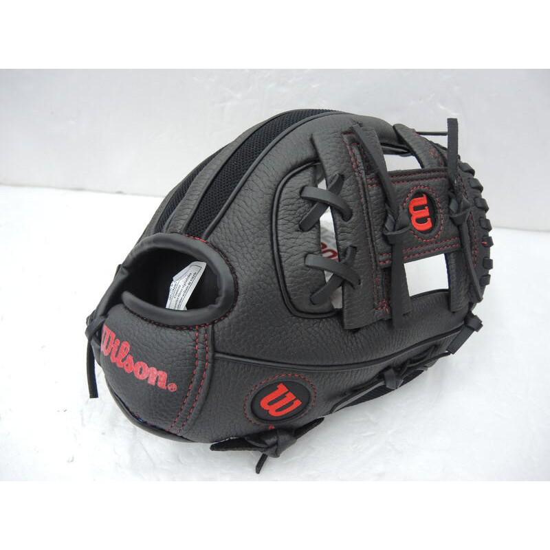 Wilson A200 兒童專用棒球手套 初心者手套 入門手套 10吋 黑