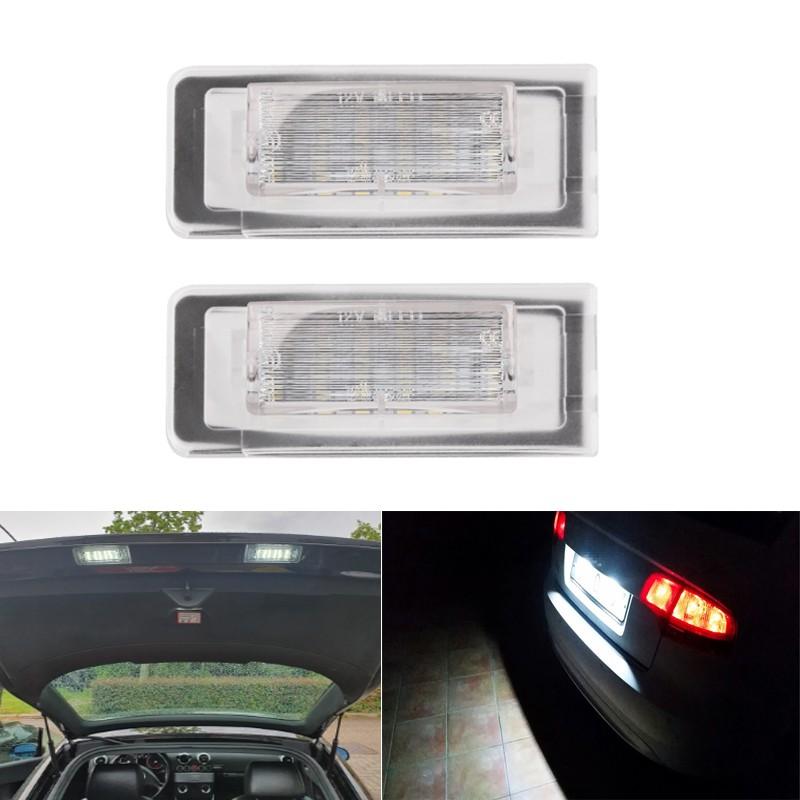 AUDI奧迪TT專用LED牌照燈 8N 1999~2006 Audi TT MK1高亮車牌燈 Roadster 8N9