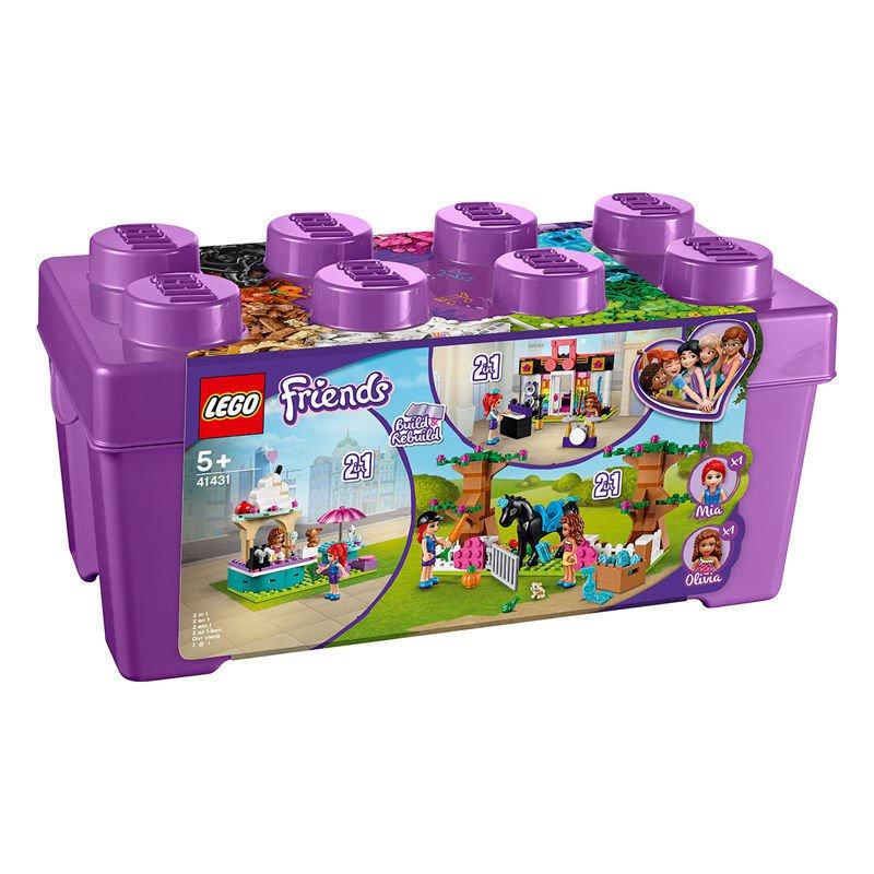 LEGO樂高好朋友系列心湖城積木盒41431 女孩5歲+生日禮物玩具積木