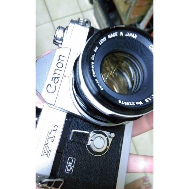 台北 底片,單眼相機 canon ftb 50mm f1.8 fd