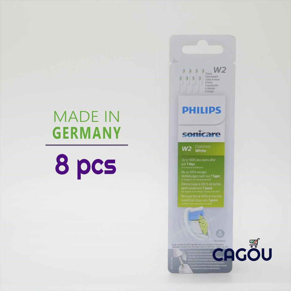 飛利浦智能鑽石刷頭 8入組 | Philips Sonicare 音波牙刷 刷頭 同HX6063/HX6067