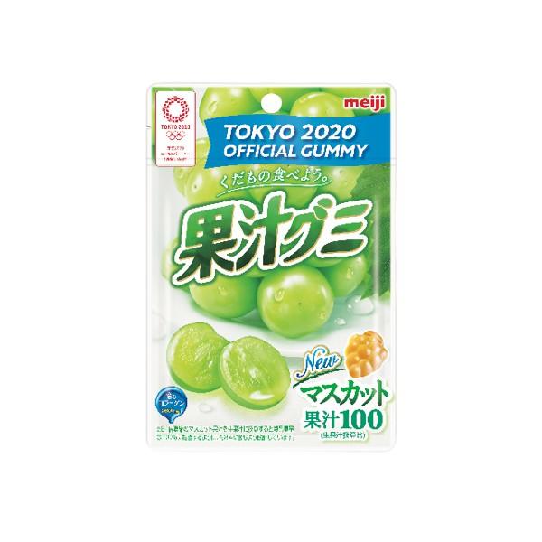 明治果汁QQ軟糖-白葡萄口味【康是美】