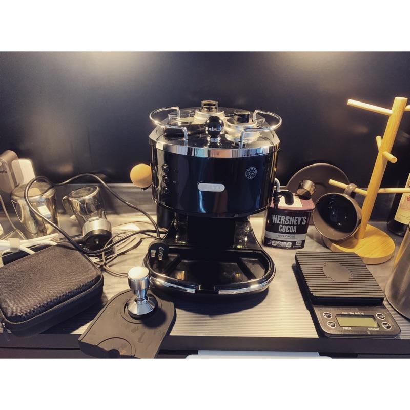 二手 Delonghi/迪郎奇ECO310 半自動咖啡機家用