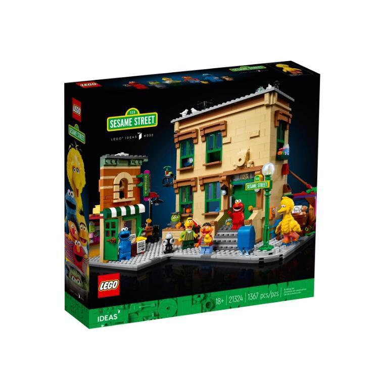 【積木樂園】樂高 LEGO 21324 IDEAS系列 123芝麻街 123 Sesame Street