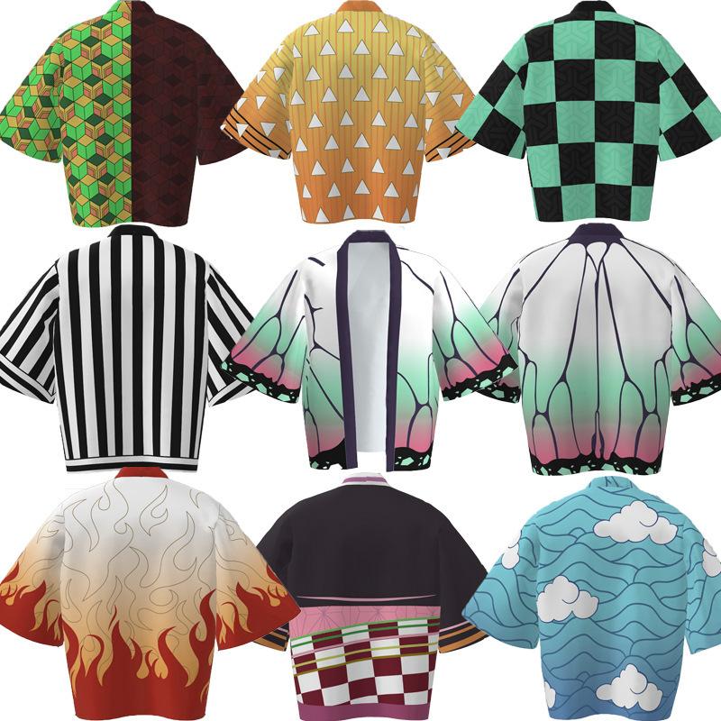 9款鬼滅之刃披風大合集 Cosplay披風 動漫周邊羽織 和服 外套 灶門炭治郎 義勇 善意 浴袍 披風 睡衣 生日禮物