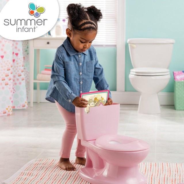 美國Summer infant 2018年新款!寶寶自主學習小馬桶(2色)