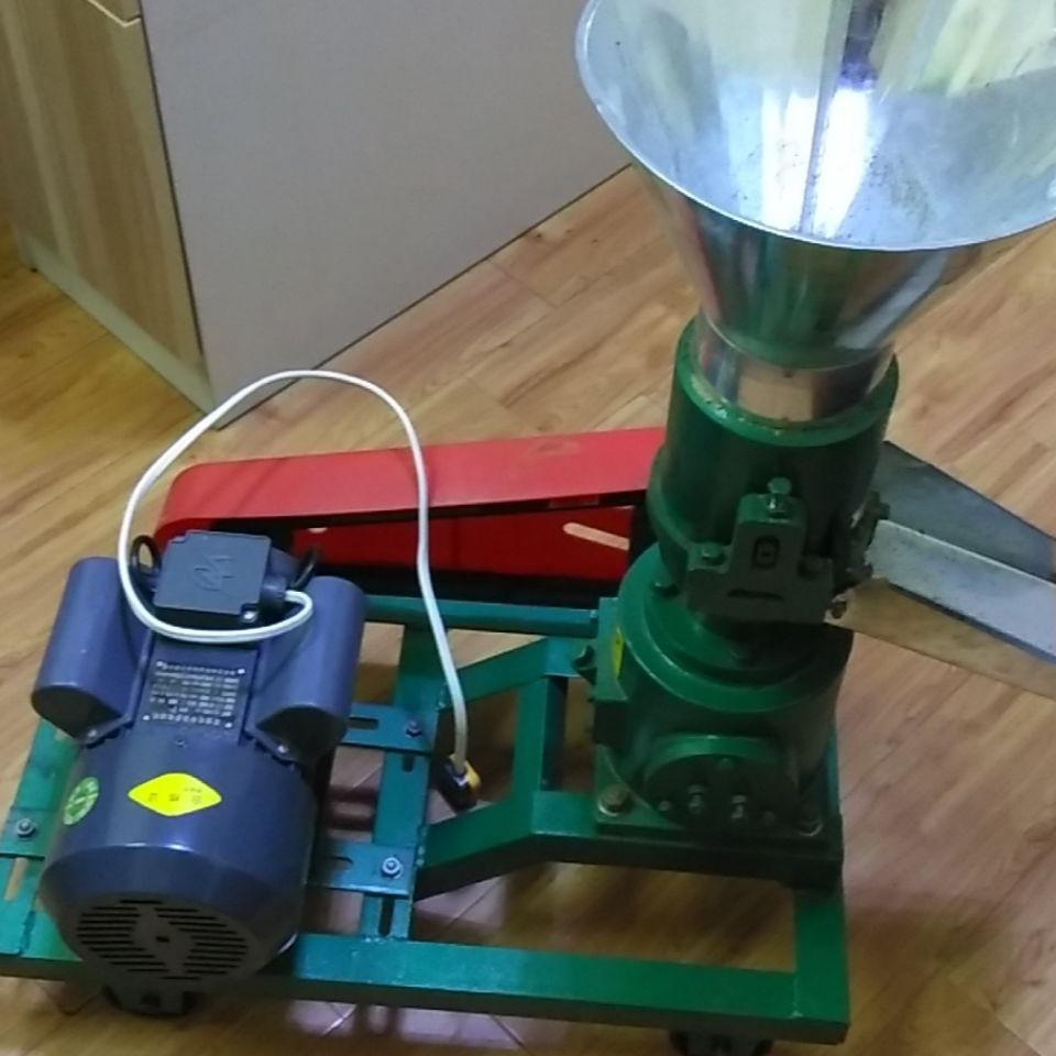 顆粒飼料機 養殖戶家用小型飼料顆粒機 單H項電飼料顆粒造粒機