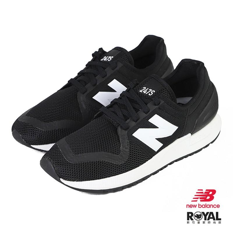New balance 247S 黑色 織布 休閒運動鞋 男女款 NO.B1497  MS247SG3   廠商直送