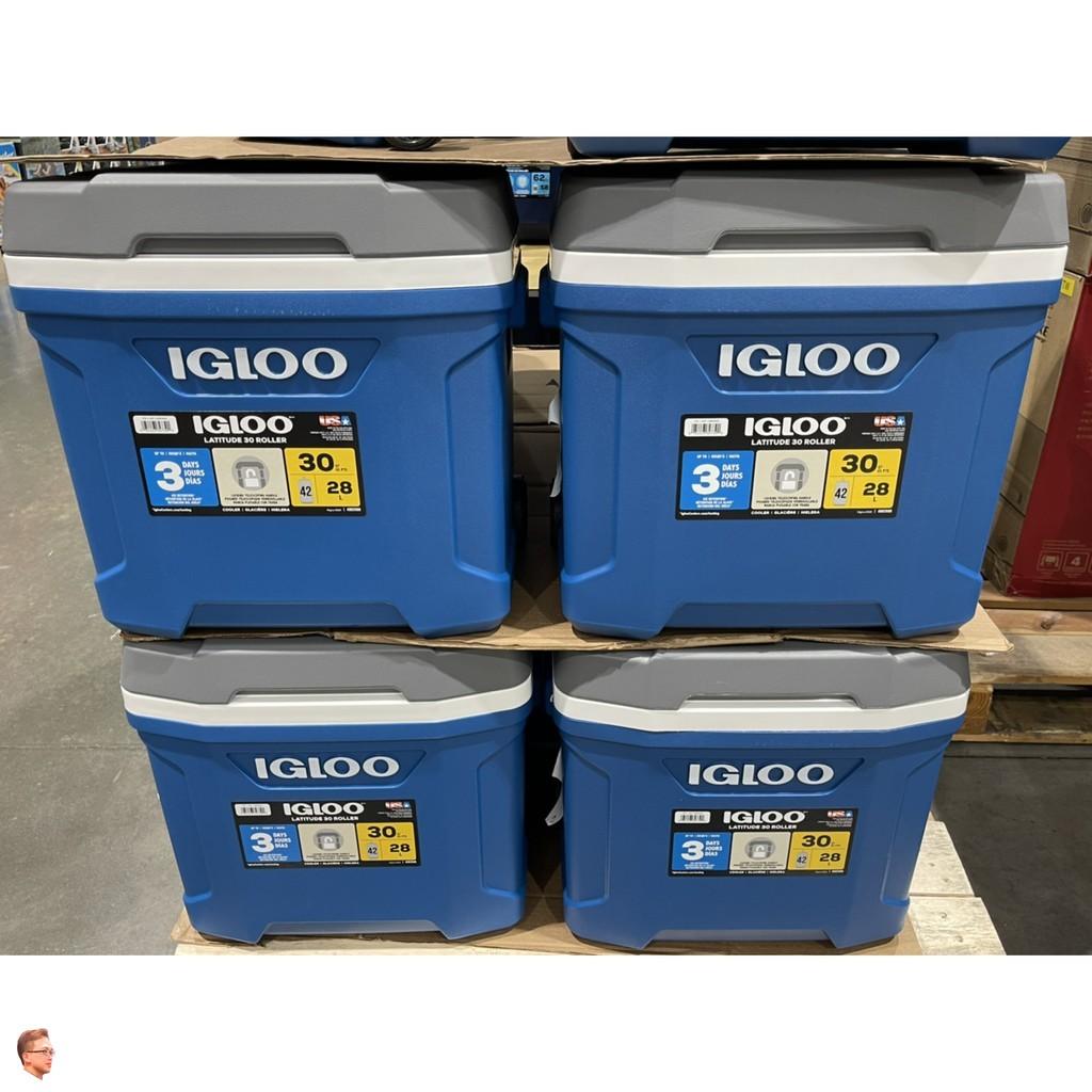 【限宅配】IGLOO 冰桶  58公升 28公升 58L 28L滾輪冰桶 好市多 costco 露營 野餐 【fu主】
