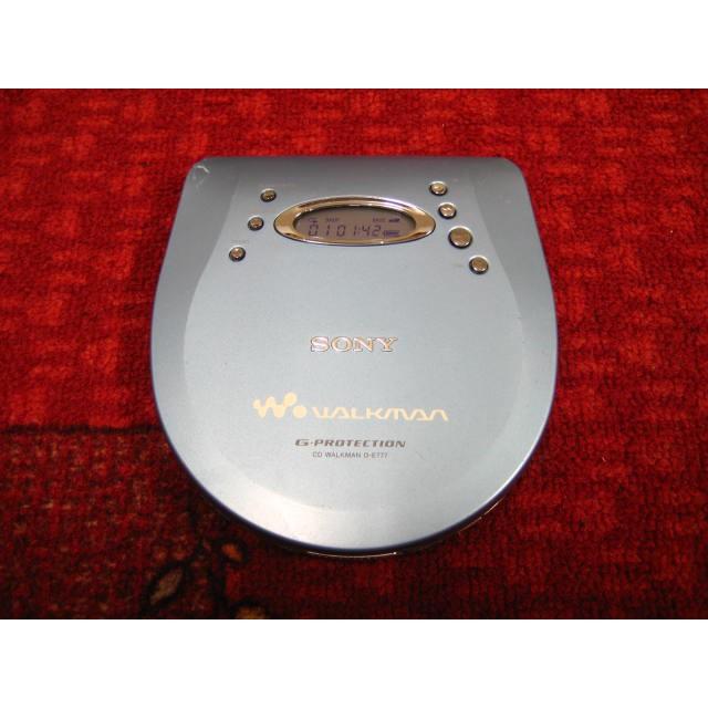 【完美作品】80%新,SONY WALKMAN D-E777 CD隨身聽,簡易配件
