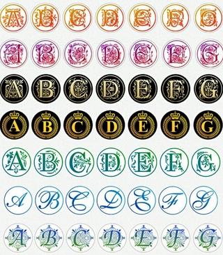 26個英文字母A-Z系列 現貨 火漆蠟印章 蠟封印章 封蜡銅頭 火漆銅頭 封印烙印 婚禮請帖信封口 火漆封蠟 銅蓋印章頭