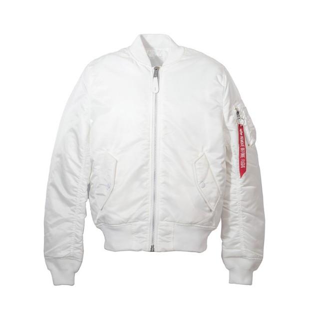 ALPHA MA-1-Slim-Fit 合身版型 飛行夾克 MA1 白色MA1 鐵灰色MA1 藤原本舖