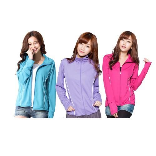吸濕排汗 防曬外套 立領外套 遮手背 抗UV 抗紫外線 UPF50+5色 M-2XL
