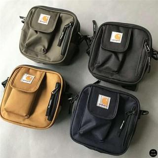 Carhartt WIP Essentials Bag小包  單肩包 側背包 腰包 腰包 斜背包 素色 卡其 迷彩 潮流