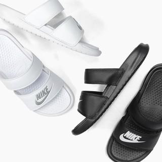 【樂購吧】NIKE 拖鞋 男  女 黑819717-010 白  819717-100
