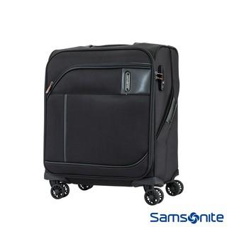 Samsonite新秀麗 18吋/ 24吋/ 27吋 Janik商務功能性飛機輪TSA布面行李箱(黑色) 新北市