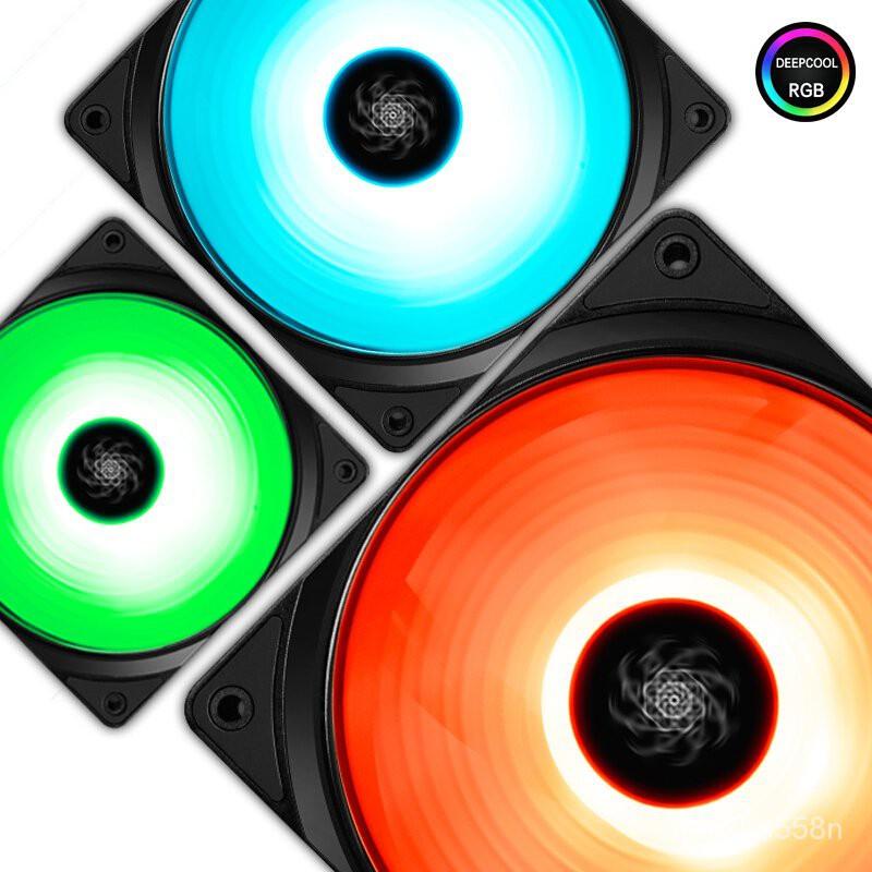 九州風神魔環RF120 三聯包五聯包RGB風扇支持AURA靜音RGB燈控風扇
