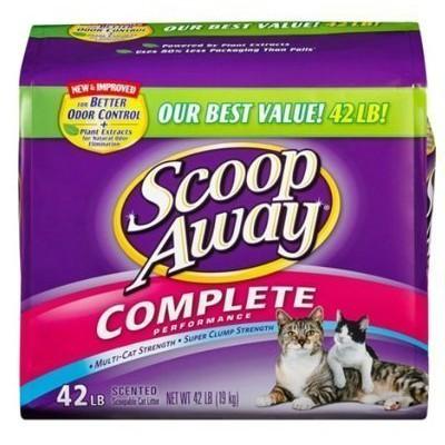 COSTCO好市多 Scoop Away 超凝結貓砂 19公斤