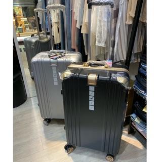 貓哥旅遊商城 出清超美 唯美主義 SGS認證 LETTI 鋁框 黑金 銀色 20吋 26吋 29吋 旅行箱 行李箱 新北市