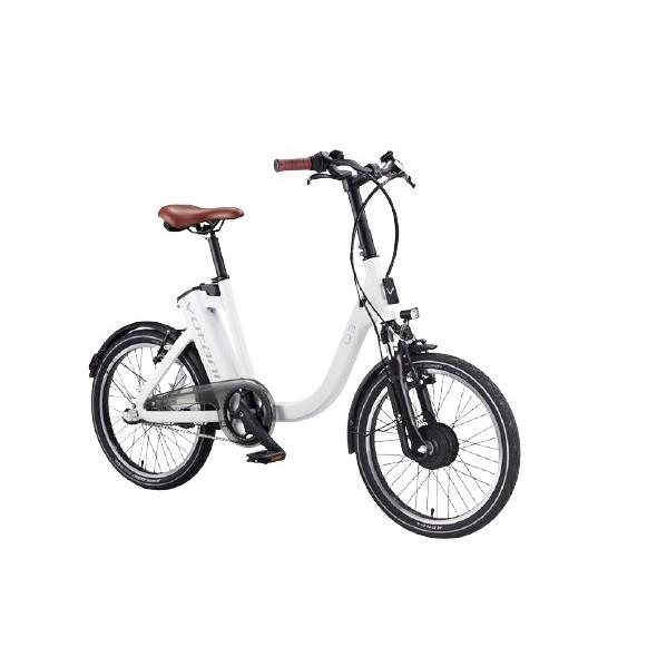 Votani Q3 電動自行車 白色 電動腳踏車 BESV 副牌