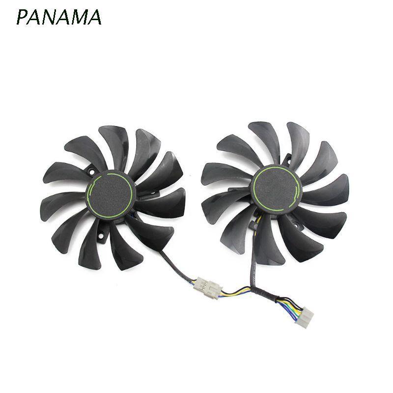 Nama 85mm Ha9010H12F-Z 4pin 冷卻風扇更換, 用於 Msi Gtx 1060 Oc 6g Gt