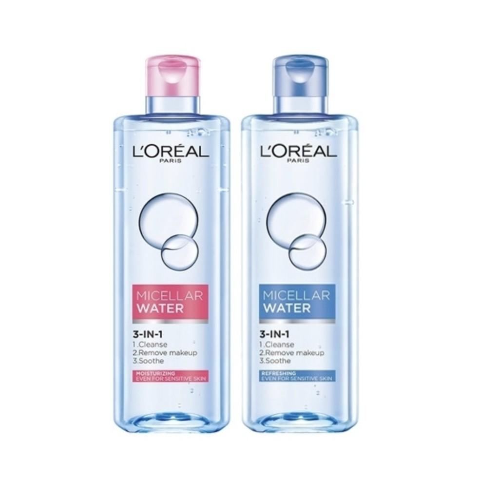 L'OREAL Paris 巴黎萊雅 三合一卸妝潔顏水(400ml) 保濕型