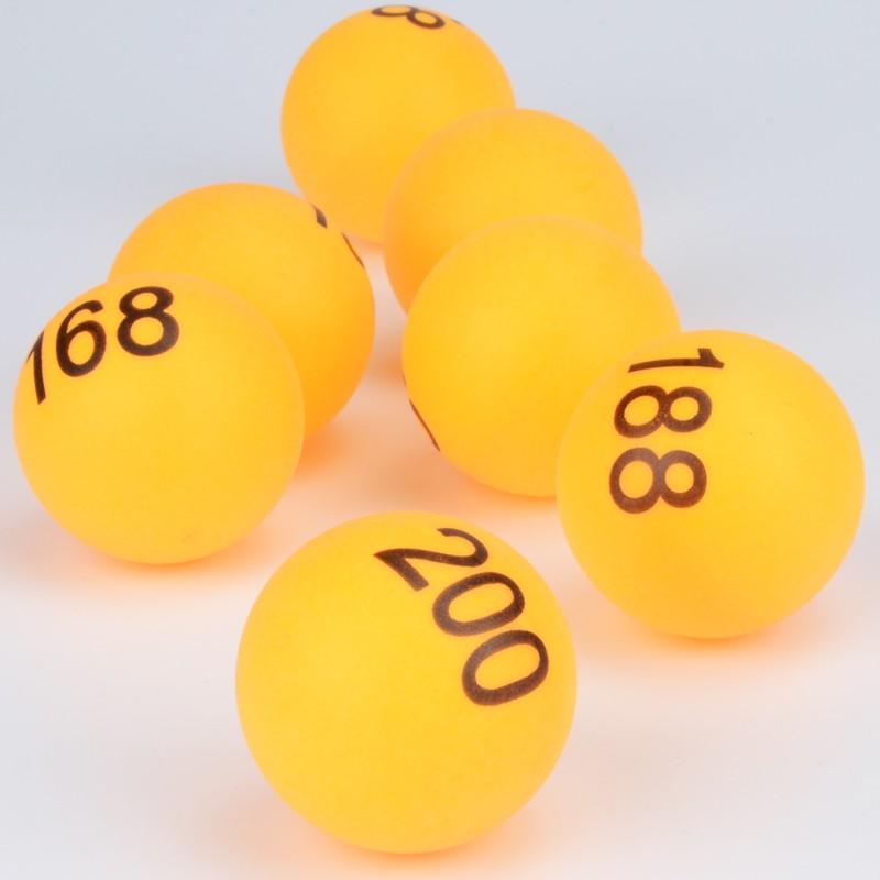 Y532-100 1-100號尾牙抽獎數字球 數字乒乓球 抽獎數字球 抽獎球 賓果球 開獎球 號碼球 數字球 尾牙