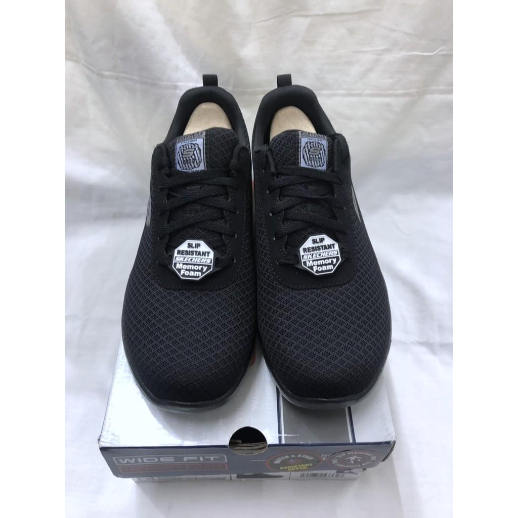 購Happy~Skechers 女輕量工作防滑鞋  黑