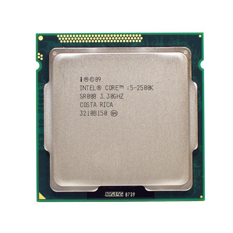 英特爾酷睿i5-2500K i5 2500K i5 2500 K 3.3 GHz四核CPU處理器6M 95W LGA 1