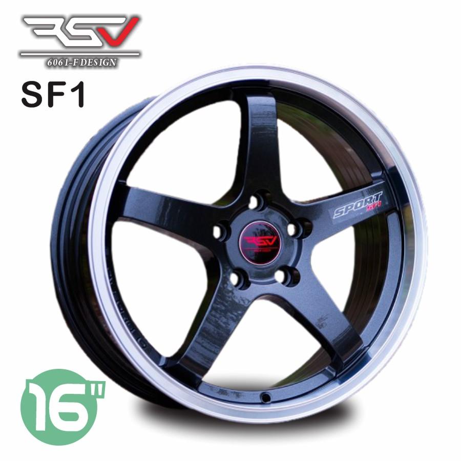 【RSV】SF1 16吋 旋壓輕量化鋁圈