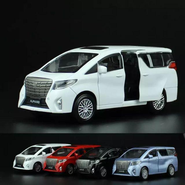 TOYOTA Alphard 模型車 玩具車 回力車 合金車 生日禮物 兒童最愛 休旅車 家庭車 商務車