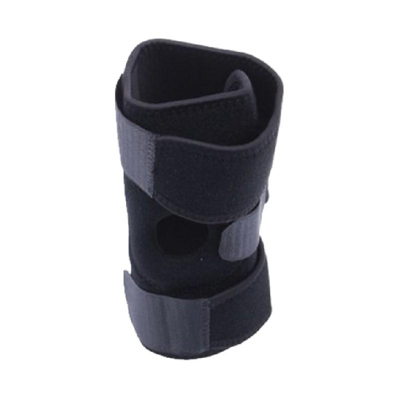 四彈簧加強型加厚護膝(男女通用款)運動護膝套 護髕骨帶 網球 羽毛球 籃球 爬山 健走 復健 三鐵 跑步(單只售)