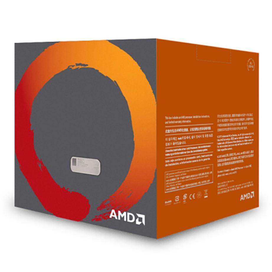 Box Amd Ryzen R3 1200 1400 1600x 2200g 3200g 3400g / 3600 37