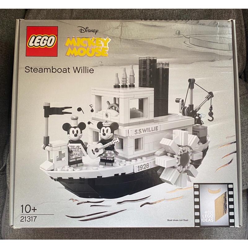 LittleLEGO 樂高 LEGO 21317 米奇蒸汽船(二手)