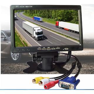 車載 車用 家用 7吋 螢幕 遮陽罩 VGA AV IPS螢幕 1024*600 /  車載錄影機專用 VGA螢幕 新北市