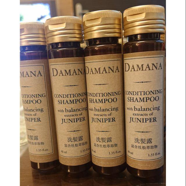 ¤ 艾蜜莉 ¤ DAMANA 洗髮露 洗髮 旅行系列,單瓶 公司貨 中文標籤說明
