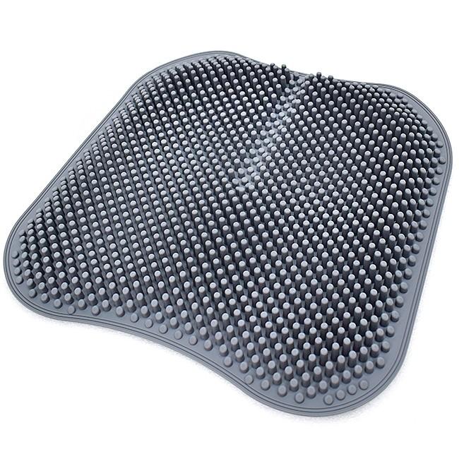 加大3D透氣矽膠坐墊D189-2302汽車坐墊辦公椅墊.硅膠減壓軟墊座墊.車用冰涼墊按摩坐墊.俏臀美臀椅墊刺刺腳底按摩墊