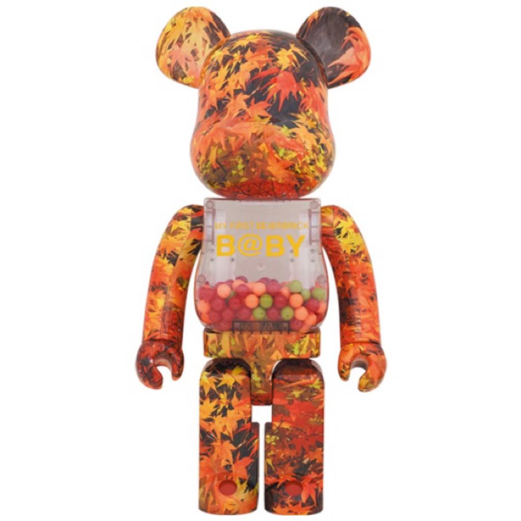 BE@RBRICK My First Bearbrick Baby 楓葉 千秋 1000% itn