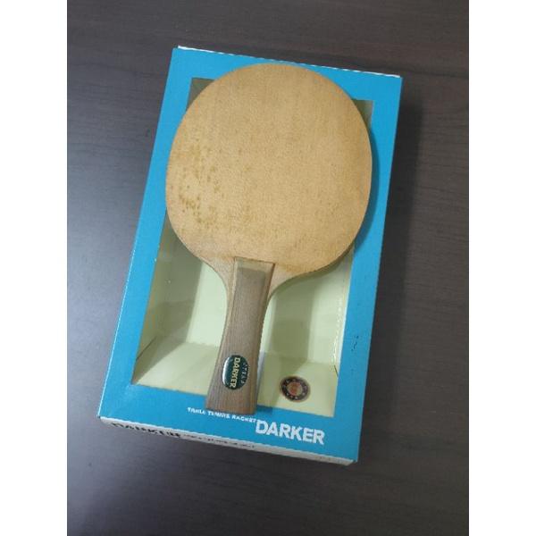 DARKER✨ 檜單刀板 FL柄 「二手出售」桌球 球拍 桌球拍 乒乓球 乒乓球拍 舊拍
